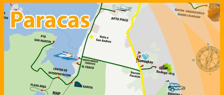 Paracas-mapa
