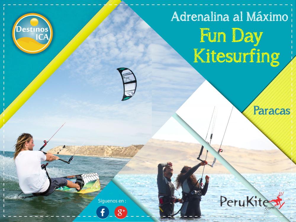 Fun Day - Kitesurfing - Paracas