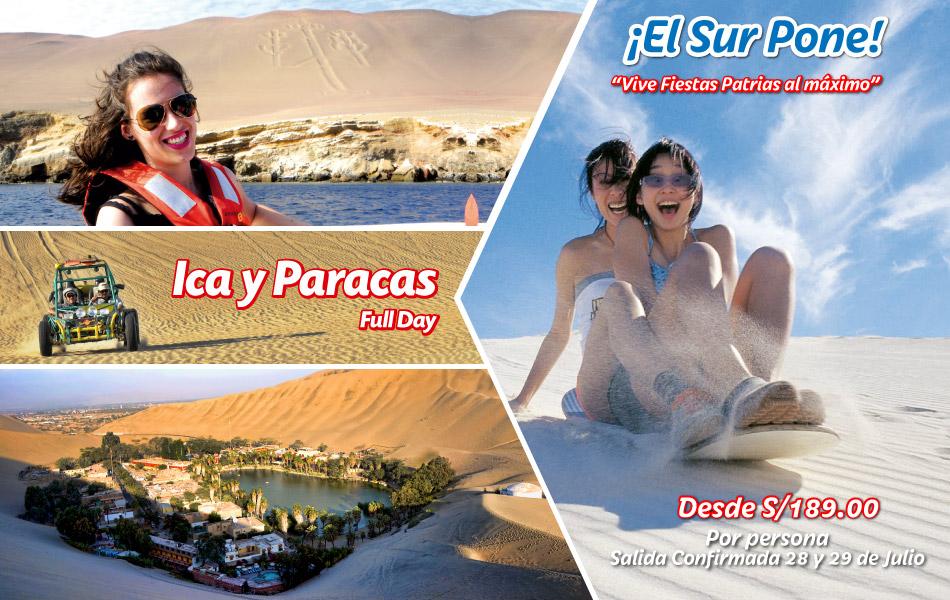 Full Day Fiestas Patrias Ica y Paracas