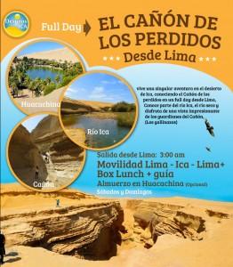 Cañon de los Perdidos desde Lima