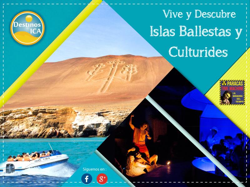 Islas Ballestas y Culturides Paracas